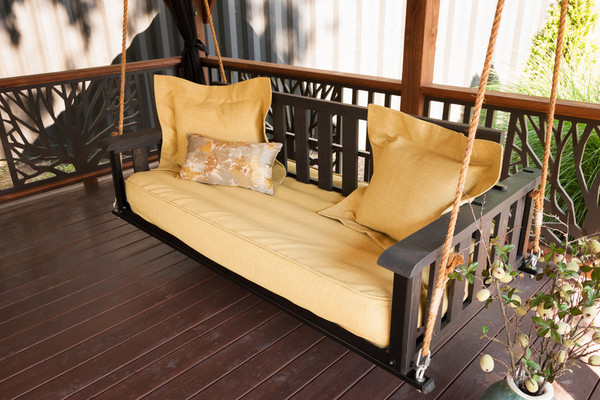 The Craftsman Pine Bed Swing With Regard To Day Bed Porch Swings (#19 of 20)