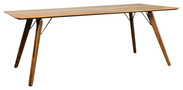 Theo Dining Table In Fumed Oaknuevo Throughout Most Current Fumed Oak Dining Tables (#15 of 20)