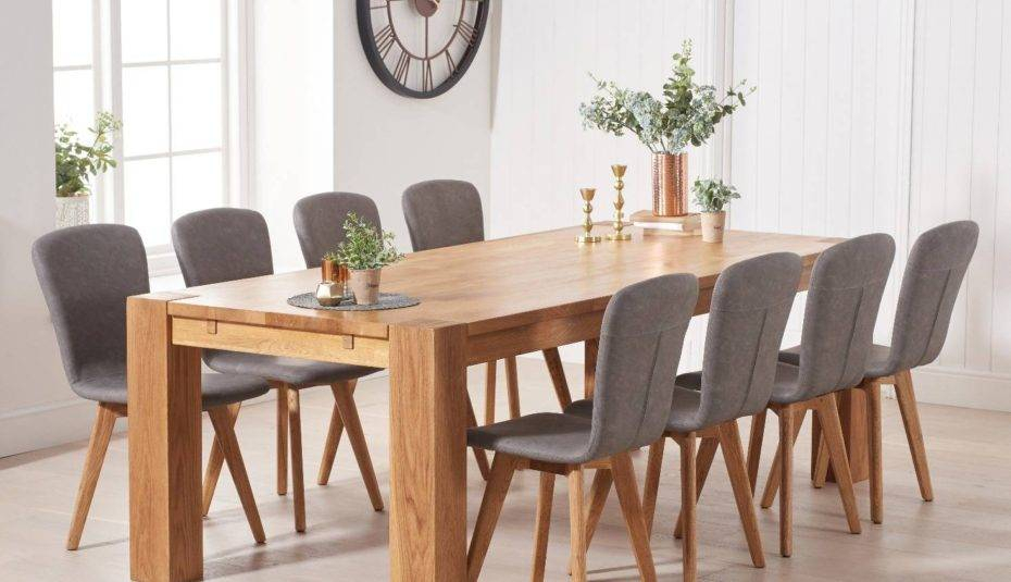 Thick White Marble Slab Dining Tables With Weathered Grey Finish With Most Current Likable Dining Room Furniture Distressed White Oval Table (#18 of 20)