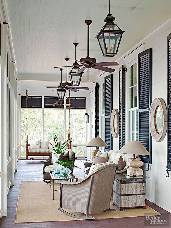 Things We Love:porch Swings | Modern Farmhouse Porch Pertaining To Lamp Outdoor Porch Swings (View 9 of 20)