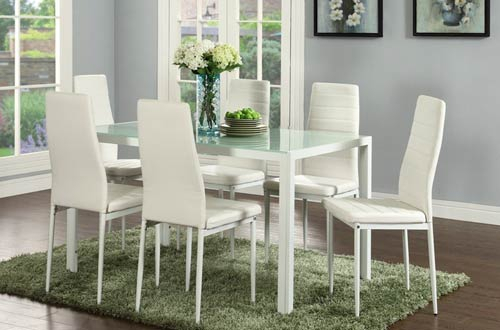 Top 10 Best Modern Rectangular & Round Glass Dining Tables Intended For Most Recently Released Modern Round Glass Top Dining Tables (#17 of 20)