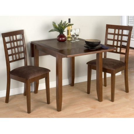 Transitional 3 Piece Drop Leaf Casual Dining Tables Set Pertaining To Well Liked Caleb 3 Piece Drop Leaf Table Set – Eaton Hometowne (View 16 of 20)