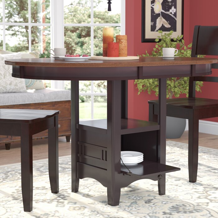 Transitional 4 Seating Drop Leaf Casual Dining Tables Within Best And Newest Sinkler Counter Height Drop Leaf Dining Table (View 5 of 20)