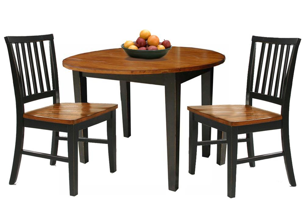 Trendy 3 Pieces Dining Tables And Chair Set With Regard To Arlington 3 Piece Set (View 20 of 21)