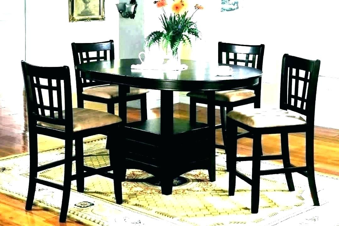 Trendy Elegance Large Round Dining Tables Within Counter Height Glass Dining Table – Imeldahaddon (#19 of 20)