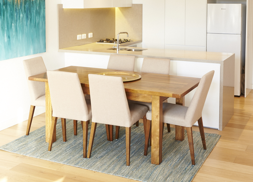 Trendy How To Choose An Extension Dining Table » Shack Homewares Intended For Contemporary 4 Seating Square Dining Tables (#18 of 20)