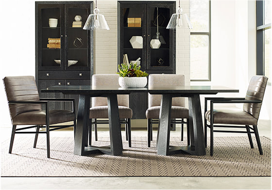 Trendy Modern Loft Rectangular Dining Table, Studiostickley Collection –  Stickley Furniture In Rectangular Dining Tables (#19 of 20)