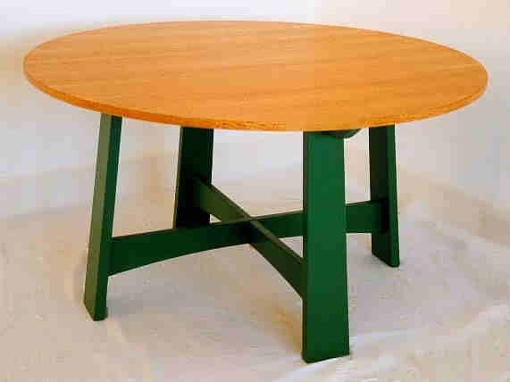 Trendy Morris Round Dining Tables With Regard To William Wm Morris Oak & Painted Arts & Crafts Movement (#20 of 20)