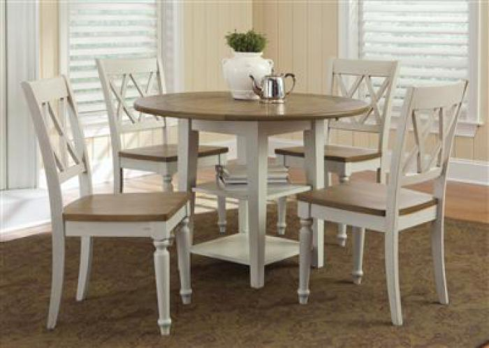 Trendy Ridge Home Furnishings: Buffalo & Amherst, Ny: Furniture With Transitional 3 Piece Drop Leaf Casual Dining Tables Set (View 4 of 20)