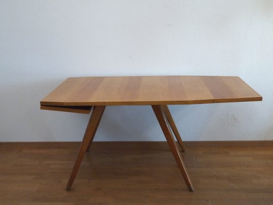 Trendy Swiss Extendable Dining Table, 1950S Within Extension Dining Tables (#18 of 20)