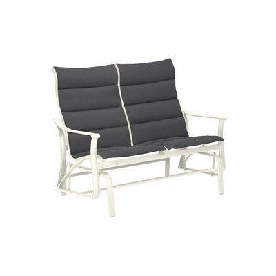 Tropitone Corsica Padded Sling Loveseat | Outdoor Furniture Regarding Padded Sling Loveseats With Cushions (#15 of 20)