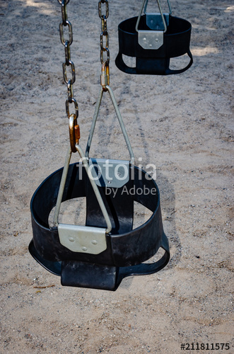 Two Child Bucket Style Swing Seats On Chains (View 10 of 20)