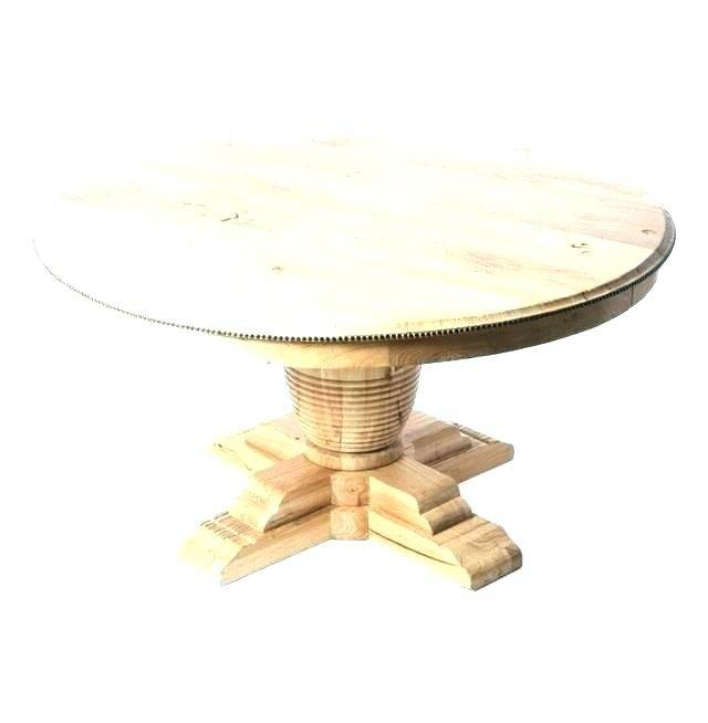 Inspiration about Unfinished Drop Leaf Casual Dining Tables With Most Up To Date Adorable Unfinished Round End Table Dining Room Furniture (#13 of 20)