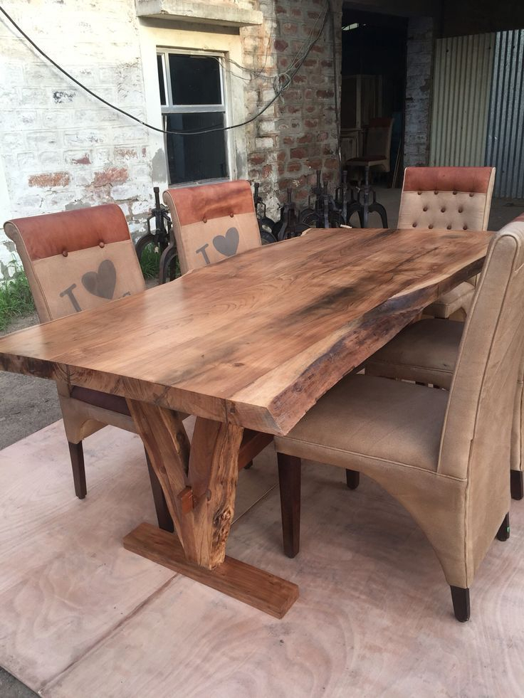 Inspiration about Unique Acacia Wood Dining Tables For Well Liked Yosemite Live Edge Table Acacia Solid Wood (#18 of 20)