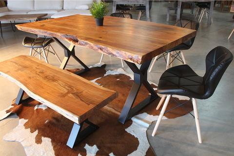 Inspiration about Unique Acacia Wood Dining Tables With Regard To Trendy Attractive Unique Wood Dining Table Creative Of Room Educonf (#16 of 20)