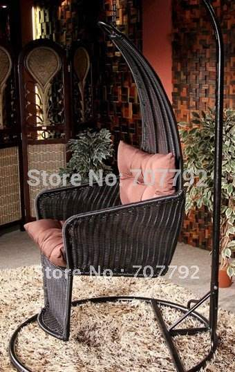 Inspiration about Us $272.0  Hot Sale Sg Tb 019 Rattan Garden Swing Chair In Patio Swings  From Furniture On Aliexpress Within Rattan Garden Swing Chairs (#19 of 20)