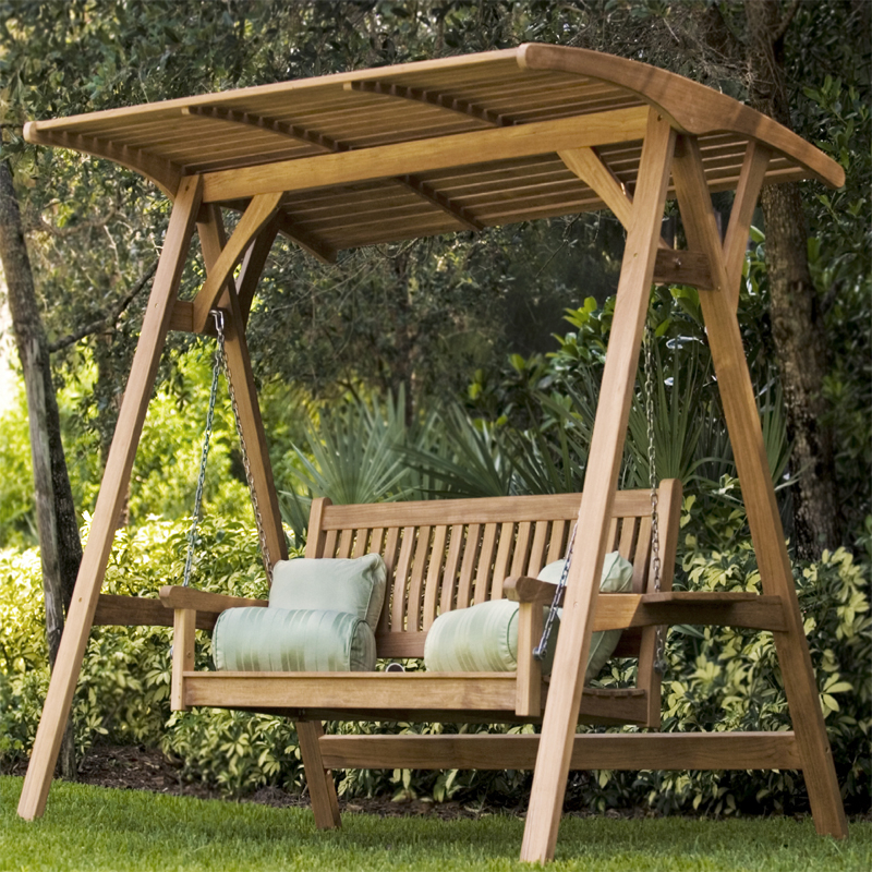 Veranda Swinging Bench With Canopy For Porch Swings With Canopy (#19 of 20)