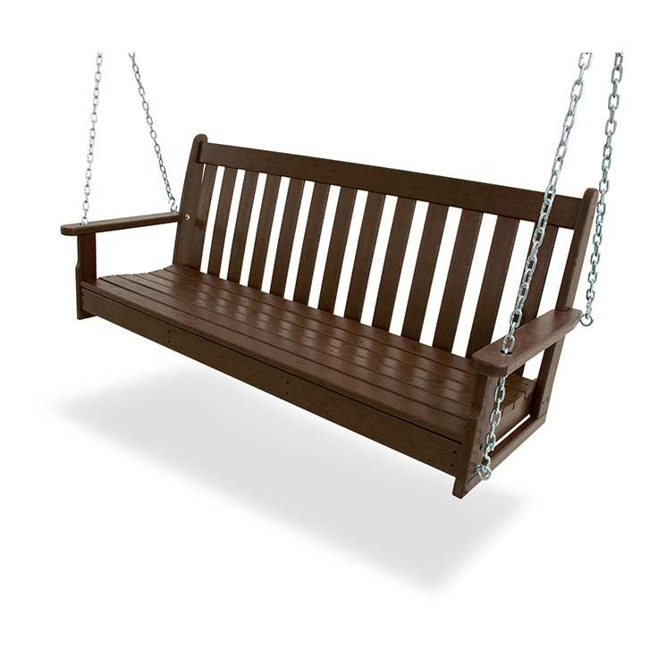 Vineyard 60in Swing Bench | Porch Swing, Classic Outdoor In Vineyard Porch Swings (View 1 of 20)