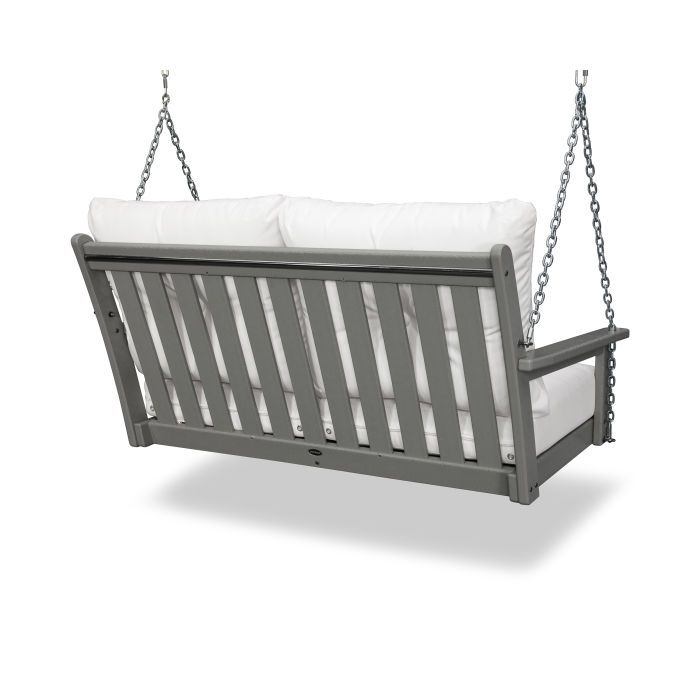 Vineyard Deep Seating Swing | Porch Swing, Home Decor, Furniture Throughout Vineyard 2 Person Black Recycled Plastic Outdoor Swings (View 8 of 20)