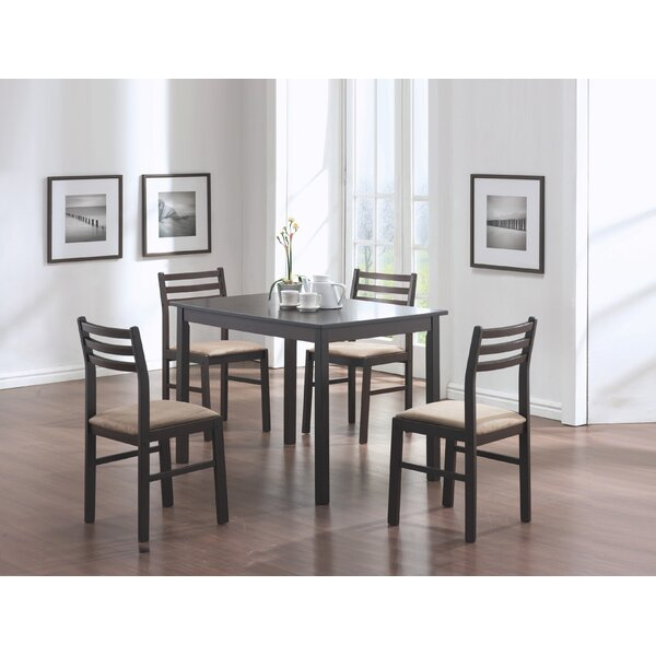 Wayfair Intended For Trendy Cappuccino Finish Wood Classic Casual Dining Tables (View 7 of 20)