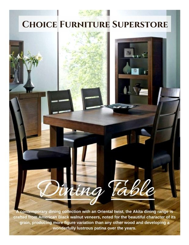 Well Known 6 Seater Retangular Wood Contemporary Dining Tables Inside Bentley Designs Akita Walnut Rectangular Dining Table (View 17 of 20)