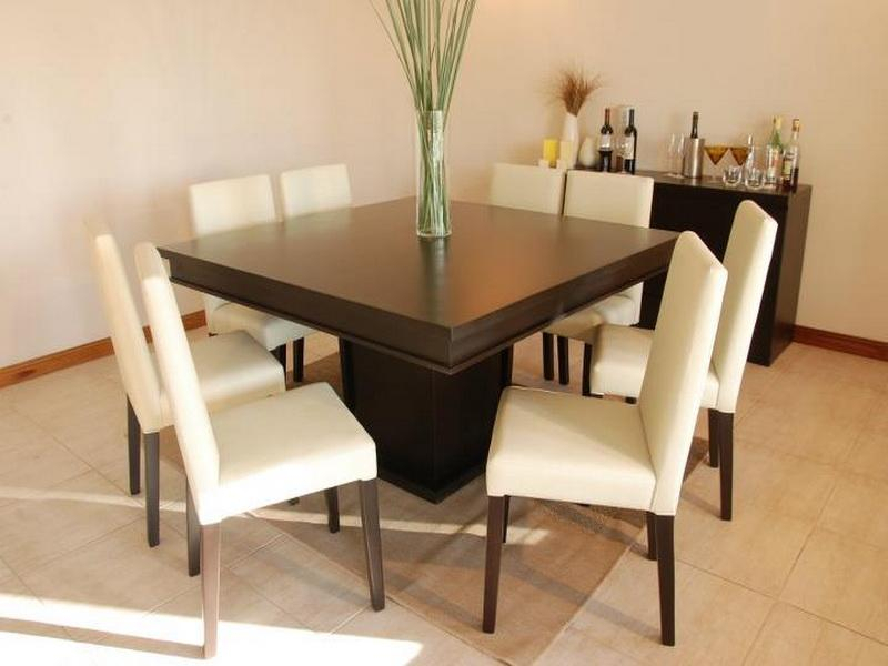 Well Known Contemporary 4 Seating Square Dining Tables Within Awesome Square Dining Room Table For 8 Seat Kitchen You Ll (#19 of 20)