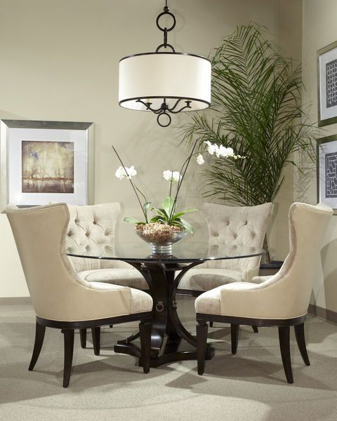 Popular Photo of Elegance Small Round Dining Tables