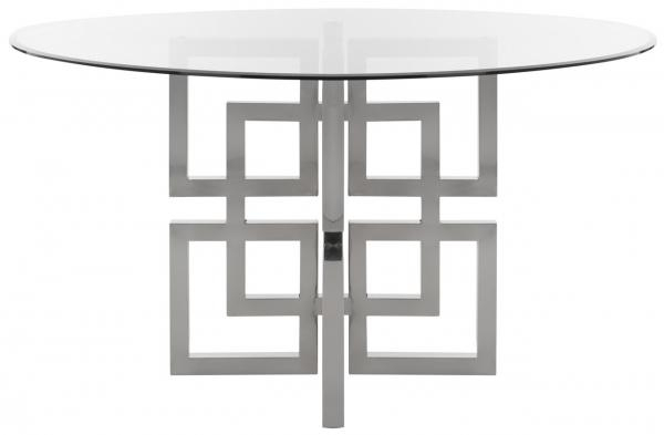 Well Known Long Dining Tables With Polished Black Stainless Steel Base Pertaining To Fox9052A 2Bx – Safavieh (#18 of 20)