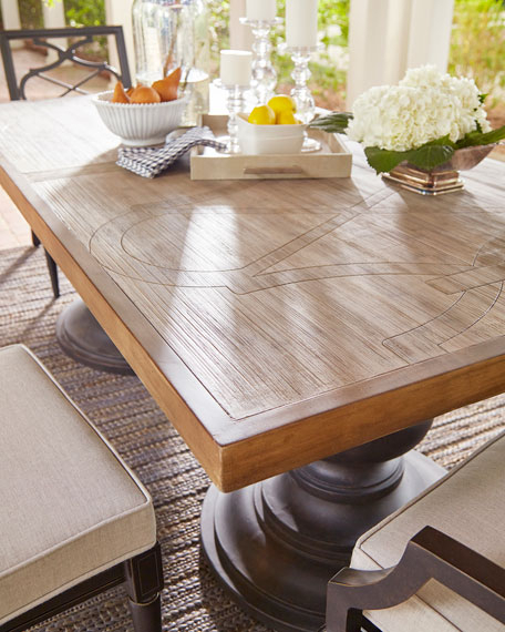 Well Known Morrissey Outdoor Neo Rectangle Dining Table Inside Neo Round Dining Tables (View 12 of 20)