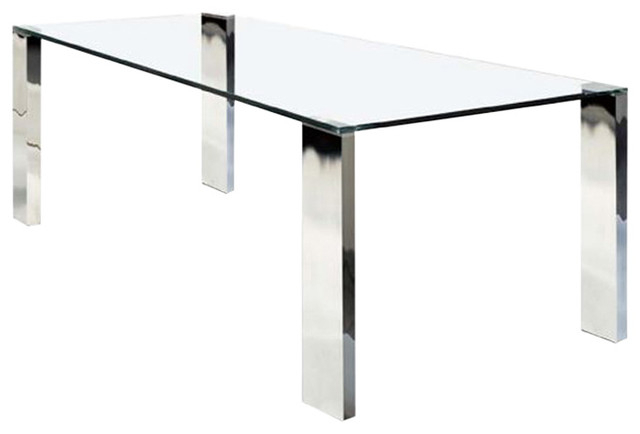 Well Known Rectangular Glasstop Dining Tables Regarding Rectangular Glass Top Dining Table (View 7 of 20)