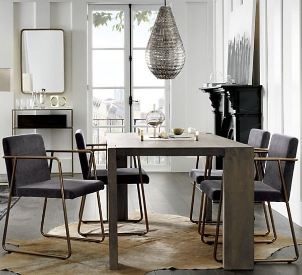 Well Known Rouka Dark Grey Dining Chair + Reviews (#19 of 20)