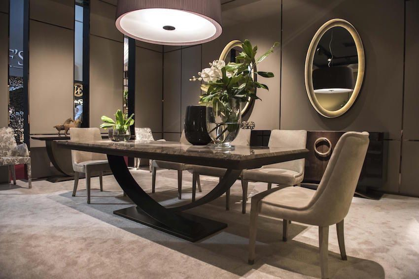 Well Liked 13 Modern Dining Tables From Top Luxury Furniture Brands In Modern Dining Tables (#17 of 20)