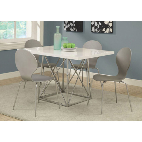 Well Liked Contemporary Rectangular Dining Table – White Within Contemporary Rectangular Dining Tables (View 13 of 20)