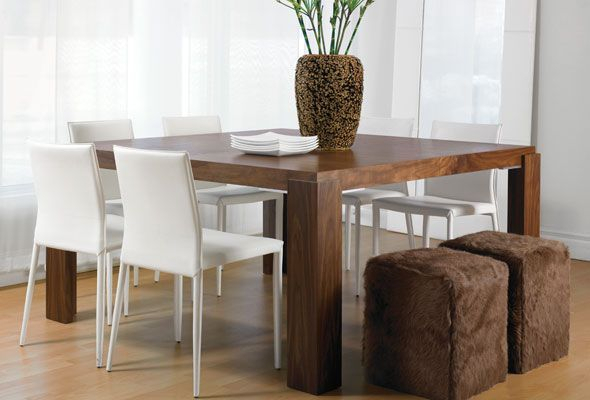 Well Liked Dining Tables With Stained Ash Walnut Within Mistral Table Natural Walnut Or Stained Ash Wood (Rectangle (View 10 of 20)