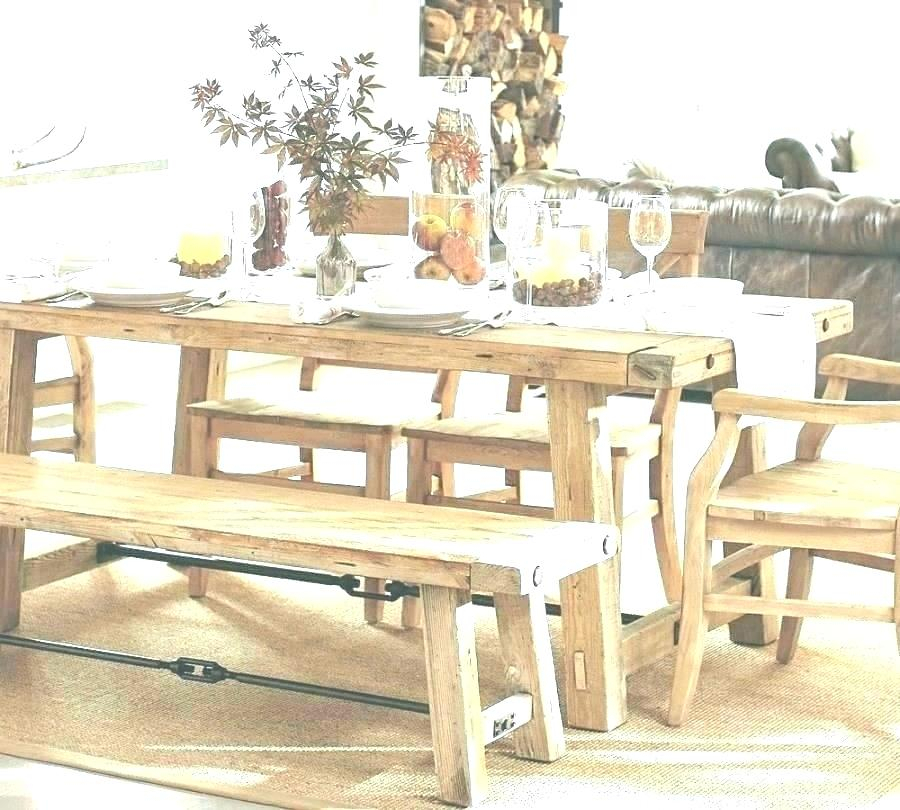 White Farm Dining Table – Stichling Inside Well Liked Walnut And Antique White Finish Contemporary Country Dining Tables (#19 of 20)