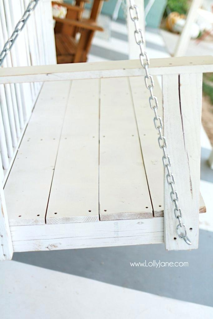 White Wooden Porch Swing S Wood Swings On 4 Foot Cottage Pertaining To Casualthames White Wood Porch Swings (View 7 of 20)