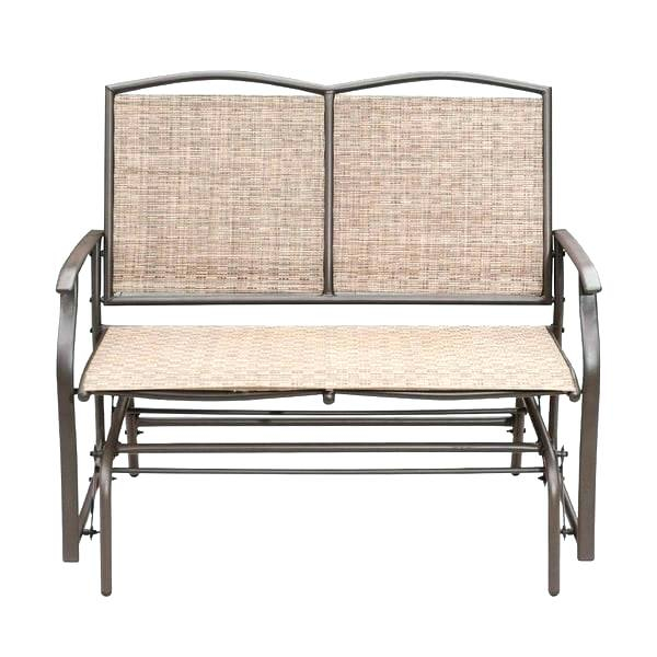 Wicker Patio Bench With Storage – Wps Refund Pertaining To Indoor/outdoor Double Glider Benches (View 2 of 20)