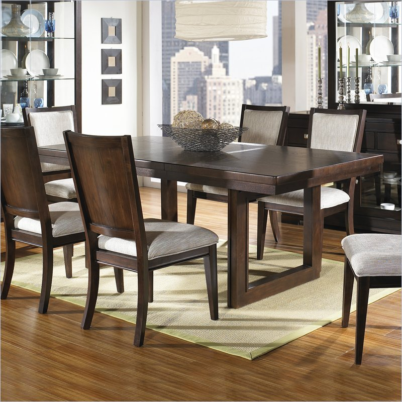Widely Used Coaster Contemporary 6 Seating Rectangular Casual Dining Tables For Shadow Ridge Modern Rectangular Casual Dining Table In (View 17 of 20)