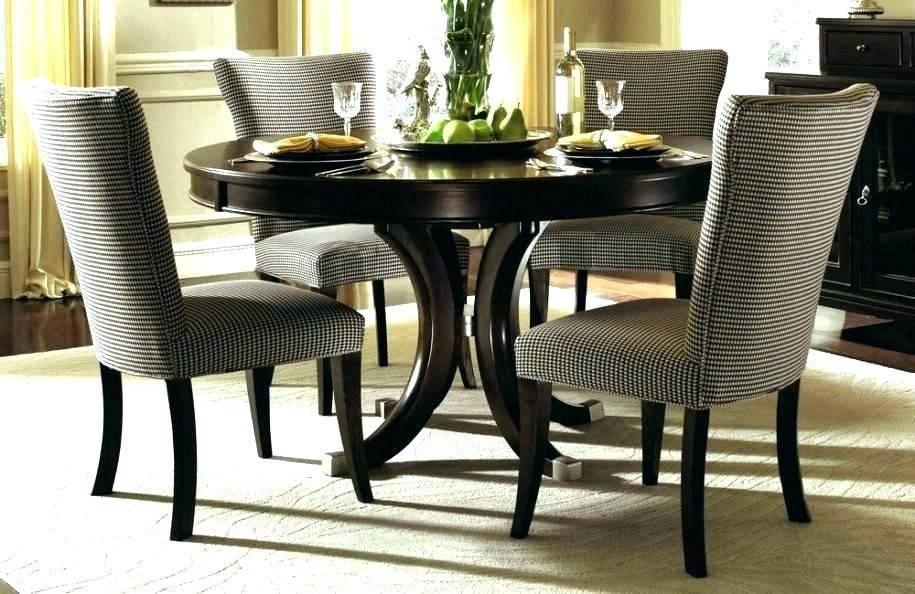 Widely Used Retro Round Glass Top Dining Table Set Room Dinette Sets In Retro Round Glasstop Dining Tables (#19 of 20)