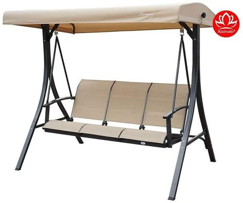 Winston Porter Otteridge Patio Porch Swing With Stand For Canopy Patio Porch Swing With Stand (View 6 of 20)