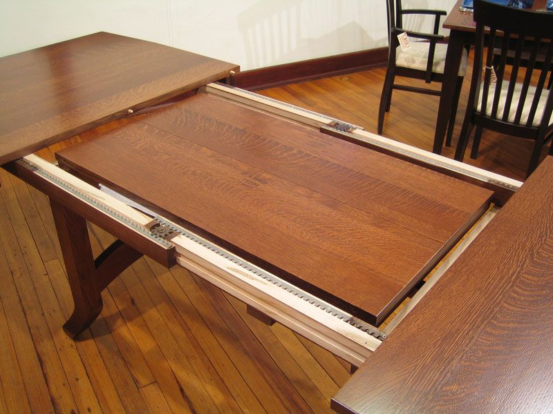 Wood Kitchen Dining Tables With Removable Center Leaf Pertaining To Most Recently Released Hidden Table Leaves – Want This For Leaf Storage! (View 12 of 20)