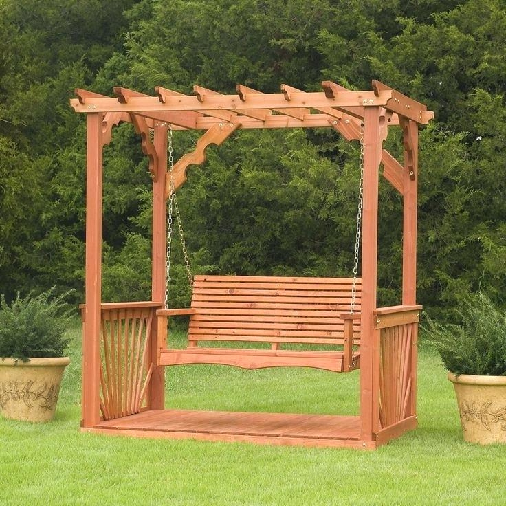 Wood Porch Swing Kits – Autocolombia (#17 of 20)