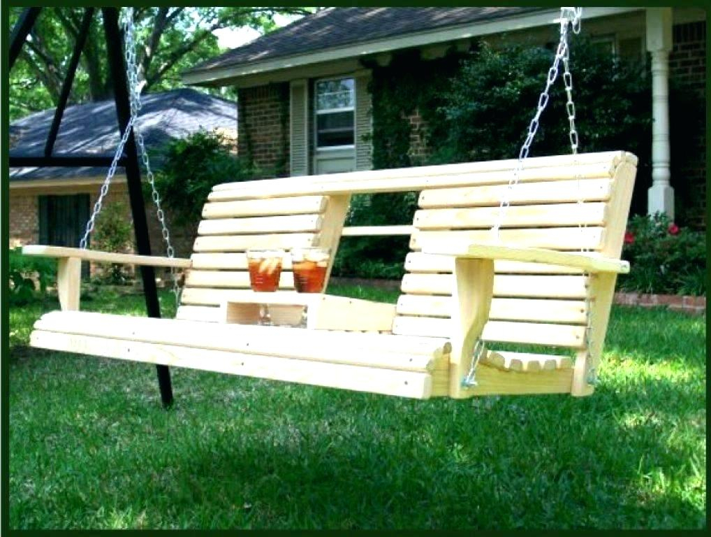 Wooden Hanging Porch Swing – Xanavi (#19 of 20)