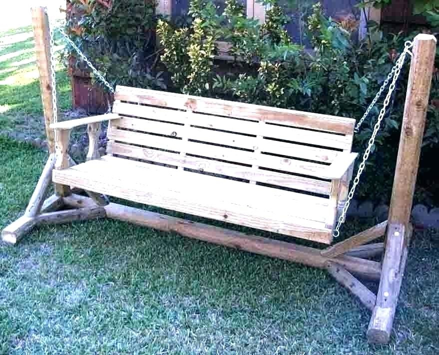 Wooden Patio Swing Plans – Damiyule (View 12 of 20)