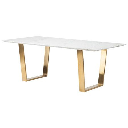 Inspiration about Zion Marble Dining Table (#9 of 20)