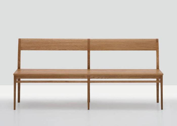 10 Easy Pieces: Modern Wooden Benches With Backs – Remodelista For Walnut Solid Wood Garden Benches (View 15 of 20)