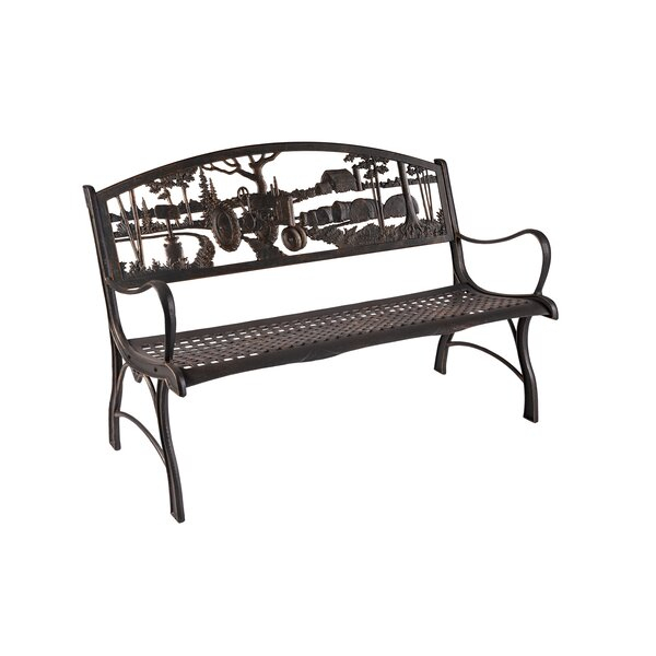 6 Ft Park Bench Inside Strasburg Blossoming Decorative Iron Garden Benches (View 7 of 20)