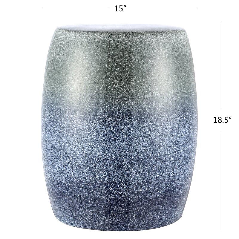Azaiah Ceramic Garden Stool For Bracey Garden Stools (View 4 of 20)