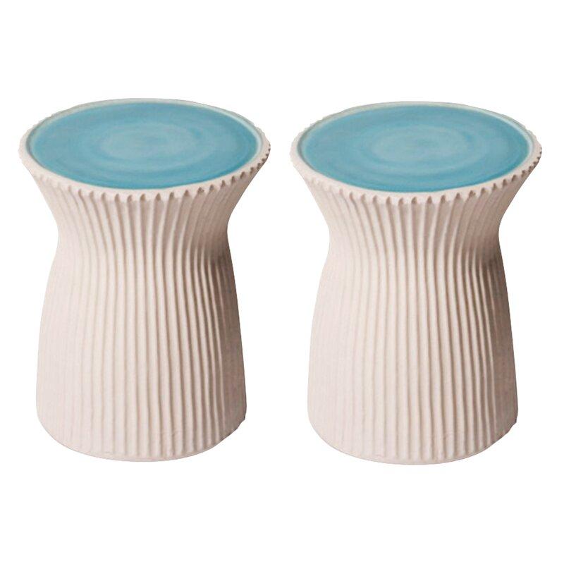 Ceramic Garden Stool Pertaining To Aloysius Ceramic Garden Stools (View 7 of 20)