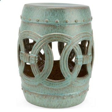 Check Out This Item At One Kings Lane! Avett Garden Stool With Regard To Kujawa Ceramic Garden Stools (View 9 of 20)